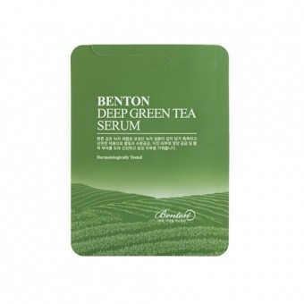 BENTON Serum do twarzy z zieloną herbatą Deep Green Tea Serum 1,2g TESTER